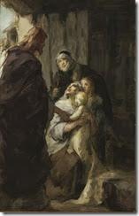 Miracle 3_Fritz_von_Uhde_(attr)_Christus_ein_krankes_Kind_heilend