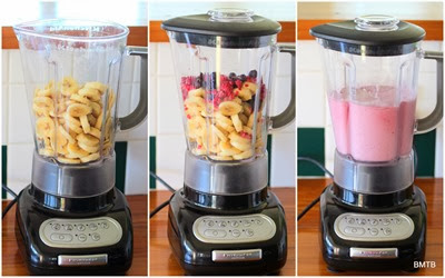 Banana Berry Icecream by Baking Makes Things Better - thanks KitchenAid
