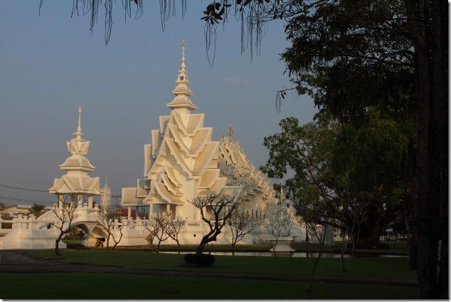 Contemporary Design of White Temple