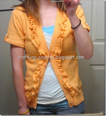 Orange Sweater (2)