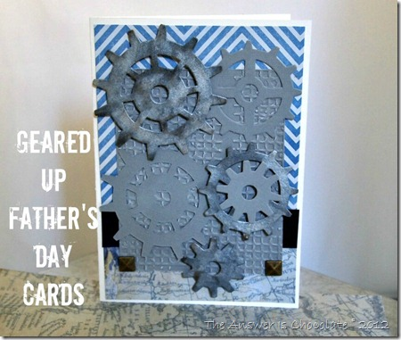 Geared Up Father's Day Card