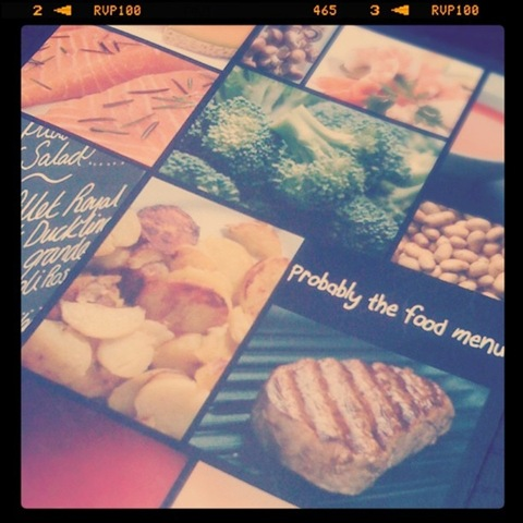 "#49 - ""Definitely"" the food menu at the Carnarvon Arms in Skegby"