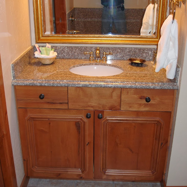 Brown Granite Vanity Top Wf 32  Bathroom Vanity Tops