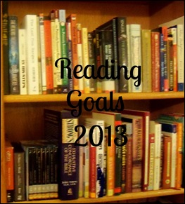 Graphic for Reading Goals 2013
