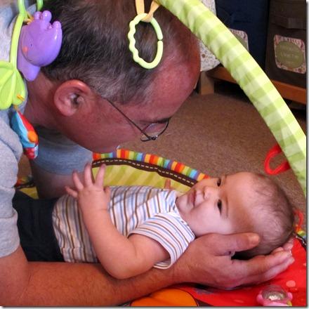 Nolan & Grandpa Godby