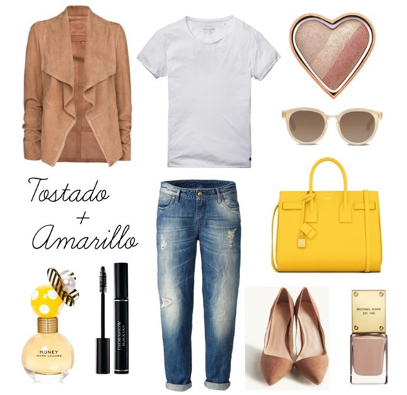 Tostado y Amarillo