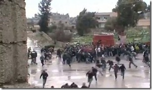 Homs under attack