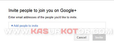 Cara Mengundang/Invite Teman ke Google Plus