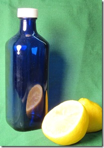 reflection of lemon setup