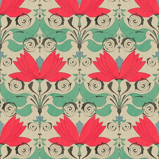 lotos pattern by Maria Khersonets - 3