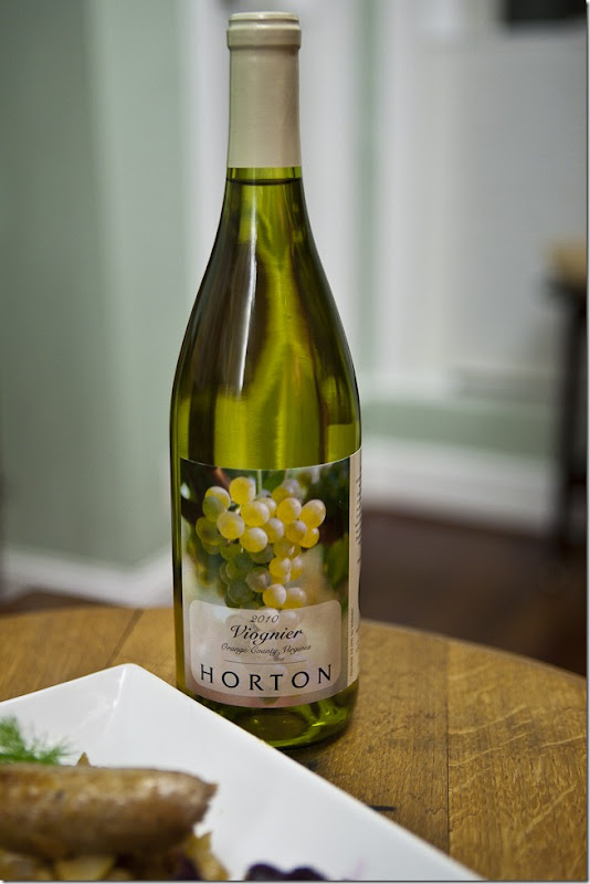 2010 Horton Orange County Virginia Viognier