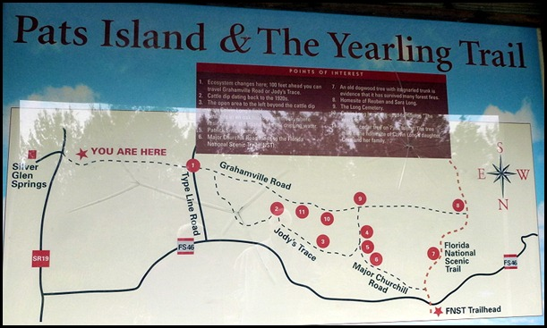 03b - Yearling Trail - Trail Map