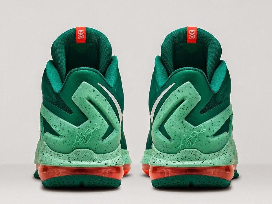Nike LeBron 11 XI Low Biscayne Mystic Green