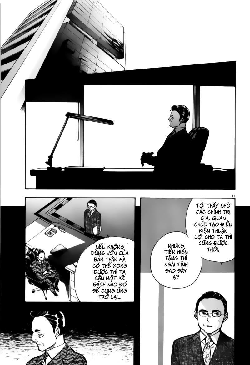 Shin Kurosagi - Con Diệc Đen 2 chap 197 - Trang 13