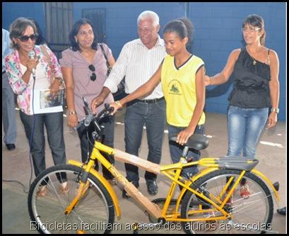 CAIC Entrega de Bicicletas