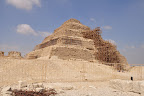 Back of Djoser's Pyramid at Saqqara