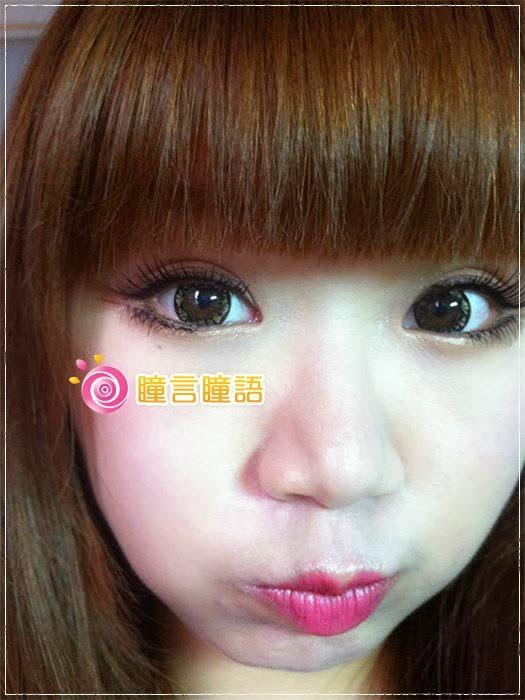 韓國GEO隱形眼鏡-芭比愛七彩鑽石咖11