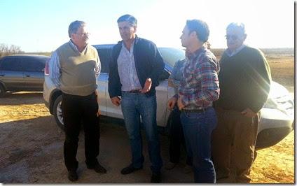 Ministro Fascendini en San Eduardo