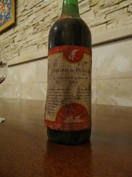 Negru de Purcari 1984 - Vinul Reginei