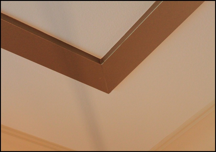 tray ceiling corner detail