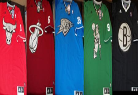 echipament NBA de Craciun