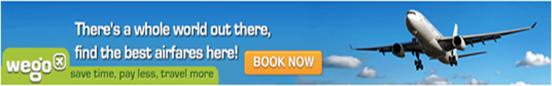Pesan Tiket Pesawat Online Murah, Wego Indonesia, pilih nginap murah