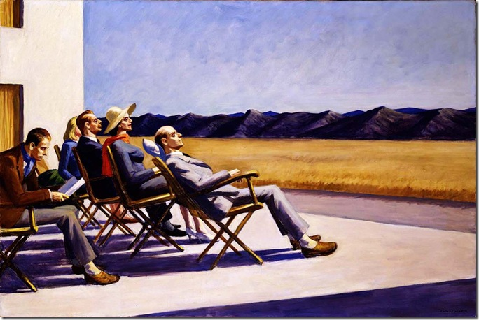 Edward_Hopper_People in the Sun_1960
