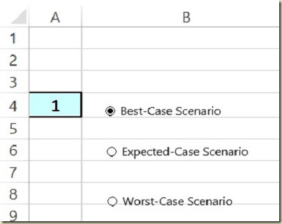 Form Controls in Excel - Renaming Buttons