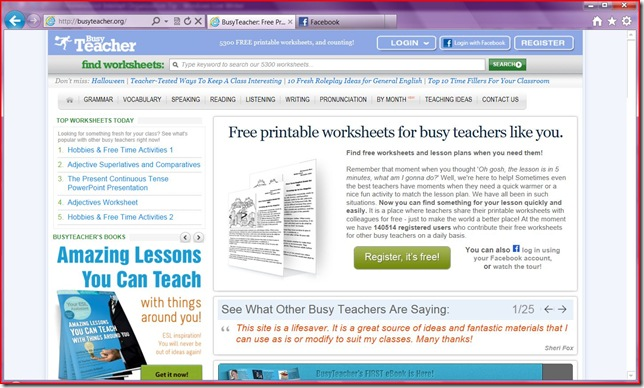 busyteacher