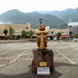 kinagawa onsen station - pretty cool site with the mist in the background in Nikko, Totigi (Tochigi) , Japan