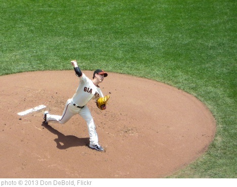 'Lincecum Delivers' photo (c) 2013, Don DeBold - license: http://creativecommons.org/licenses/by/2.0/