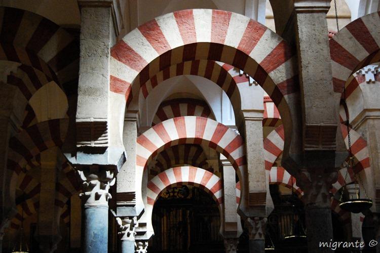 arcos de herradura - mezquita de córdoba