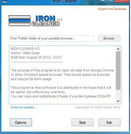 Optimizar Chrome