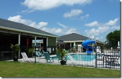 Pool and Pavillion at RV Resort