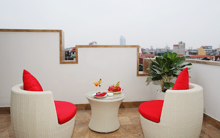 Cazare Vietnam: Hotel Golden Silk Hanoi - Luxury Suite with Terrace