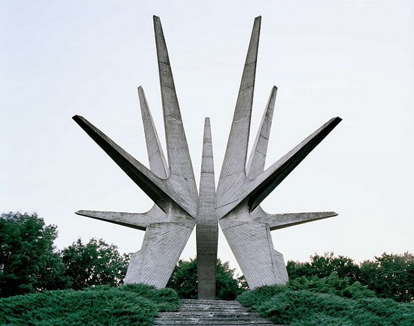 abandoned yugoslavian monuments by jan kempenaers 5