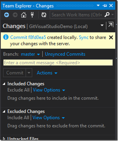 commited-sourcode-visual-studio