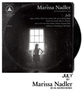 July by Marissa Nadler