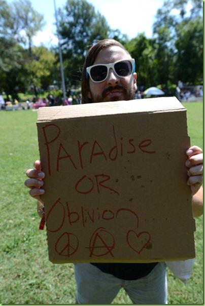 Occupy paradise