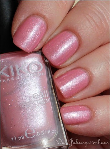 Rosa KIKO 256 Wild Rose Microglitter 6