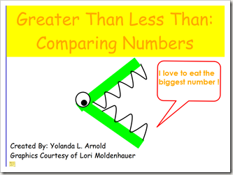 Oceans of First Grade Fun: Greater Than Less Than