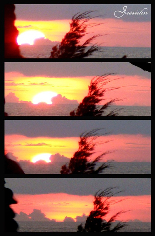 sunset tip of borneo