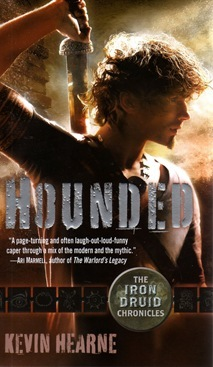 Cover - Hounded by Kevin Hearne