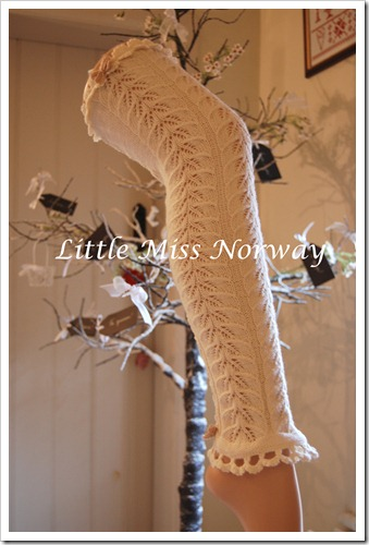 WINTER WHITE VM LEGWARMERS AW12 1