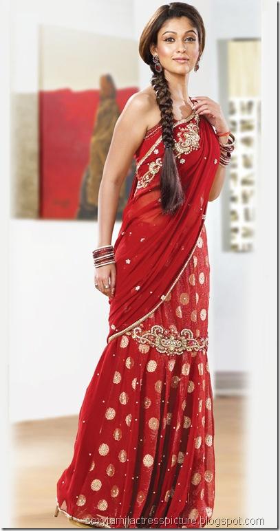gorgeous-nayanthara-hot-images-in-saree