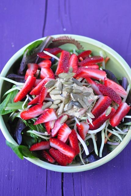 strawB-salad