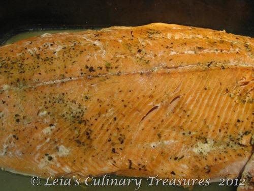 Salmon-baked