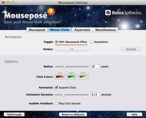 Mac app utilities Mousepose5