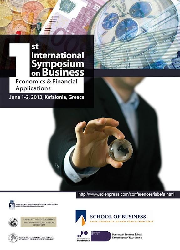1st ISBEFA 2012 poster
