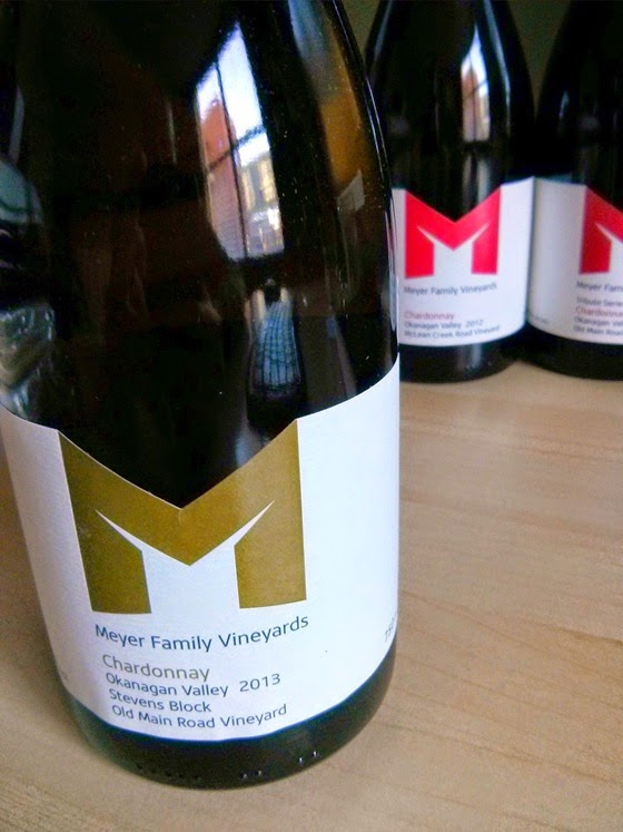 "New Meyer ""Stevens Block"" Chardonnay"